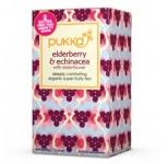 Elderberry, Echinacea & Elderflower Teabags