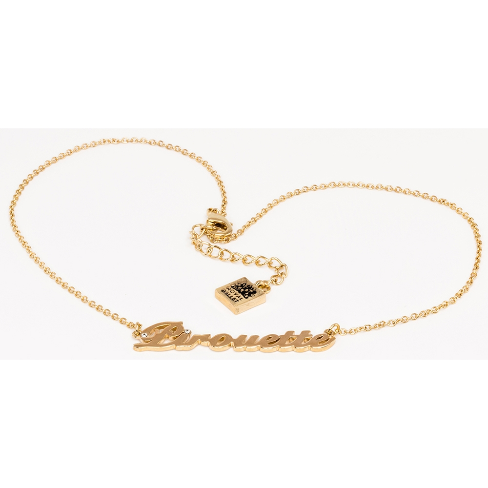 39 pirouette 39 pendant polished gold plated ballet range for What is gold polished jewelry