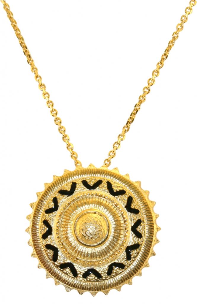 Golden sun pendant va the victoria and albert museum london golden sun pendant mozeypictures Choice Image