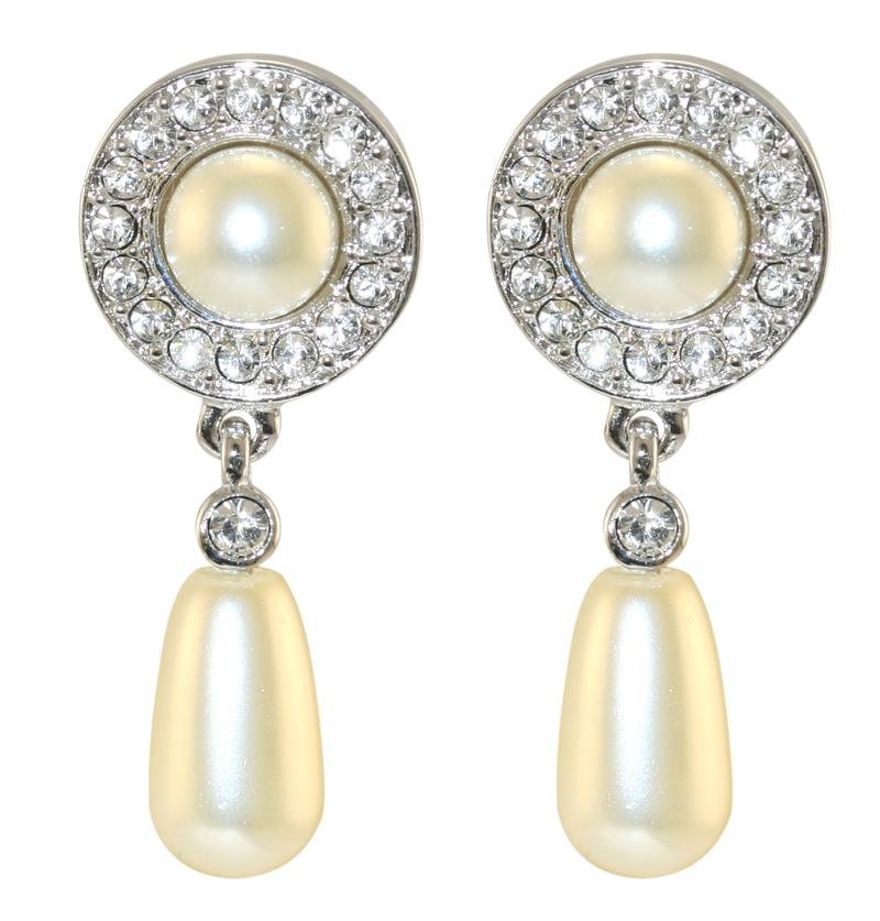 Queen Elizabeth Ii S Jubilee Pearl Drop Earrings