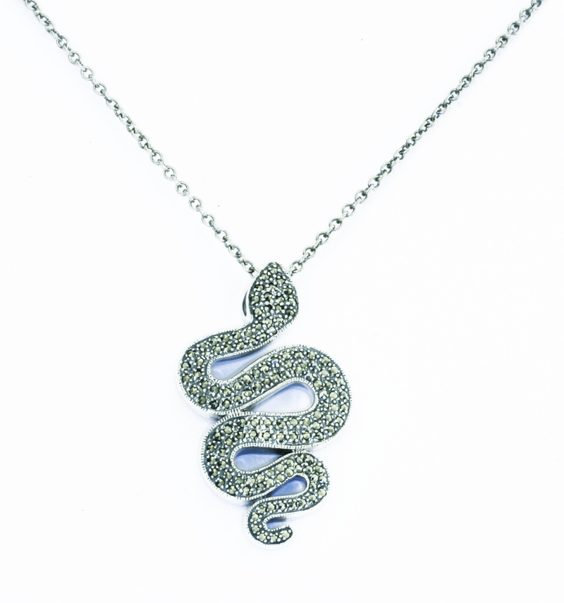 Silver serpent pendant va the victoria and albert museum silver serpent pendant mozeypictures Image collections