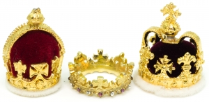 Historic Prince of Wales Miniature Set  British Crown Jewels