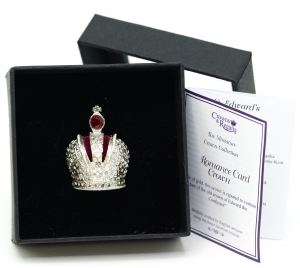 Imperial Crown of Russia Russian Miniature Crown Jewels