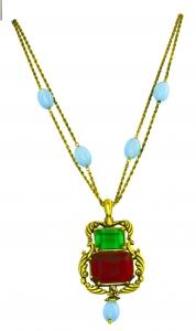 16th Century English Jewelled Pendant