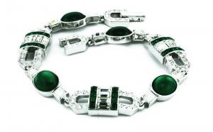 Art Deco Vert Bracelet