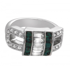 Art Deco Vert Ring