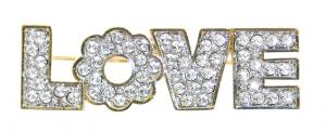 Ava Gardner Love Brooch
