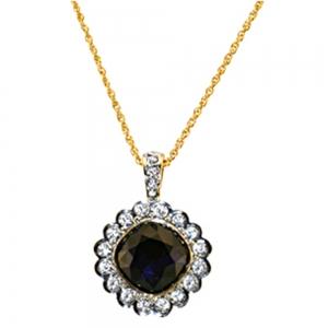 Ava gardner Sapphire Necklace