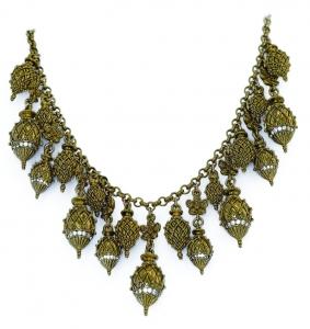 Castellani Multi-Pendant Necklace