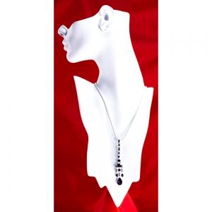 Chandelier Earring Pendant Amethyst