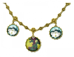 Circular Flower Necklace