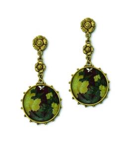 Circular Flower earrings