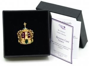 Miniature Crown of Norway Norwegian Crown Jewels