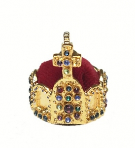 Crown of the Holy Roman Emperor - Miniature