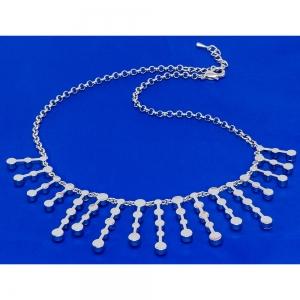Crystal Fringe Tiara Necklace