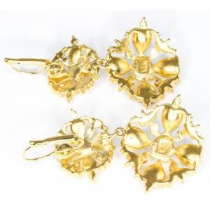 Crystal filigree Earrings