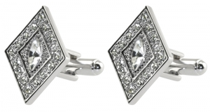 Diamond Shaped Cufflinks