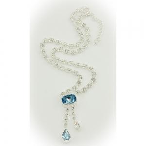 Durbar Aquamarine Necklace