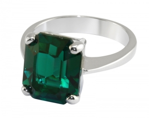 Durbar Emerald Ring