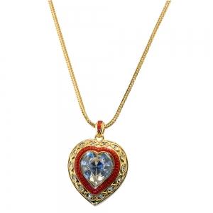 Elizabeth Taylor Heart Necklace