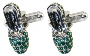 Emerald Slippers Cufflinks