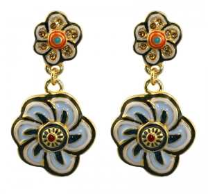Floral Inspiration Post Earrings