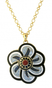 Floral Inspiration Small Pendant