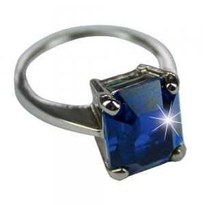 Ginger Rogers Sapphire ring- Medium