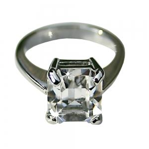 Grace Kelly Crystal Ring- Medium