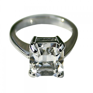 Grace Kelly Crystal ring- Small