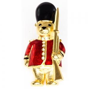 Guardsman Teddy Brooch