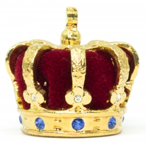 Heraldic Crown of Monaco Miniature Crown Jewels of Monaco