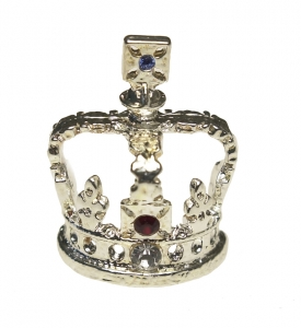 Imperial State Crown Stud Pin
