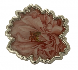 Jewels of Nature Peony Brooch