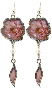 Jewels of Nature Peony Earrings