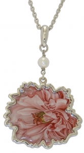 Jewels of Nature Peony Pendant