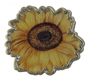 Jewels of Nature Sunflower Brooch