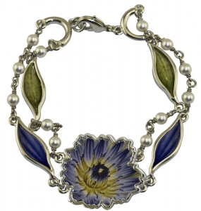 Jewels of Nature Water-Lily Bracelet