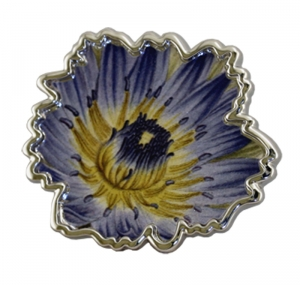 Jewels of Nature Water-Lily Brooch