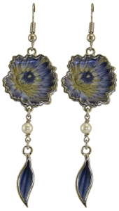 Jewels of Nature Water-Lily Earrings