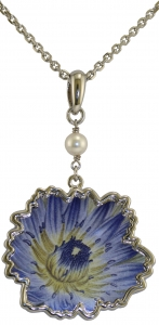 Jewels of Nature Water-Lily Pendant