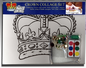 Jubilee Crown Collage Set