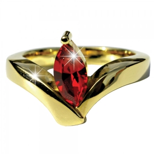 Julia Roberts Oval Ruby ring- Small
