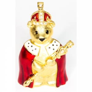 King Teddy Brooch