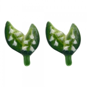 May Lily of the Valley Small Post Earrings