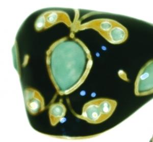 Mughal Ring - Green