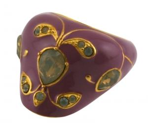 Mughal Ring - Mauve