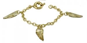 Origins Clear Crystal Claw Bracelet