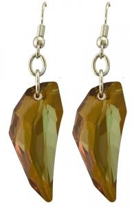 Origins amber crystal claw earrings