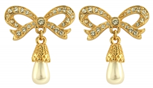 Princess Bow Earrings